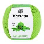 Пряжа для вязания Kartopu Amigurumi (Картопу Амигуруми) Цвет 1390 аспарагус