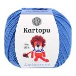 Пряжа для вязания Kartopu Amigurumi (Картопу Амигуруми) Цвет 1620 ярко голубой