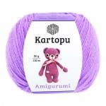Пряжа для вязания Kartopu Amigurumi (Картопу Амигуруми) Цвет 1709 сиреневый