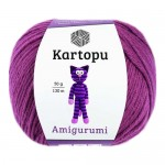 Пряжа для вязания Kartopu Amigurumi (Картопу Амигуруми) Цвет 1749 фуксия