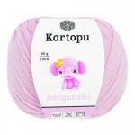 Пряжа для вязания Kartopu Amigurumi Цвет 1769 розовый