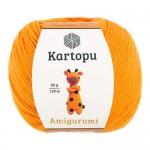 Пряжа для вязания Kartopu Amigurumi Цвет 322 желток
