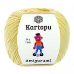 Пряжа для вязания Kartopu Amigurumi (Картопу Амигуруми) Цвет 331 лимонный