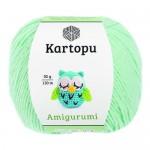 Пряжа для вязания Kartopu Amigurumi (Картопу Амигуруми) Цвет 507 мята