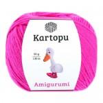 Пряжа для вязания Kartopu Amigurumi (Картопу Амигуруми) Цвет 771 розовый неон