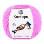 Пряжа для вязания Kartopu Amigurumi (Картопу Амигуруми) Цвет 787 ярко сиреневый
