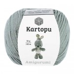 Пряжа для вязания Kartopu Amigurumi (Картопу Амигуруми) Цвет 920 серый