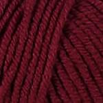 Пряжа для вязания Kartopu Cozy Wool Цвет 110 бордовый