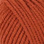 Пряжа для вязания Kartopu Cozy Wool Цвет 1210 терракот