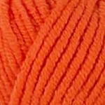 Пряжа для вязания Kartopu Cozy Wool Цвет 1211 оранжевый