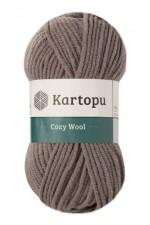 Пряжа для вязания Kartopu Cozy Wool (Картопу Кози Вул) Цвет 1921 стальной