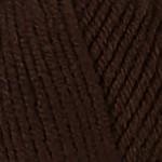 Пряжа для вязания Kartopu Cozy Wool Цвет 890 шоколад