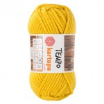 Пряжа для вязания Kartopu Tempo Цвет 1321 желтый