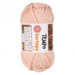 Пряжа для вязания Kartopu Tempo Цвет 1873 пудра