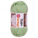 Пряжа для вязания Kartopu Tempo Цвет 391 мята