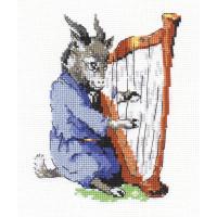 """Klart 4-049 """"Klart"""" набор для вышивания 4-049 """"Козлик-музыкант"""""""