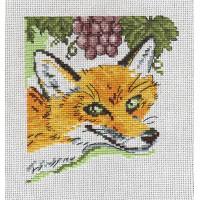 """Klart 4-050 """"Klart"""" набор для вышивания 4-050 """"Лиса и виноград"""""""