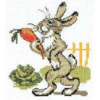 """Klart 6-068 """"Klart"""" набор для вышивания 6-068 """"Зайка с морковкой"""""""