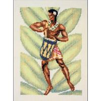 """Klart 7-105 """"Klart"""" набор для вышивания 7-105 """"Гавайский музыкант"""""""