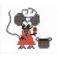 """Klart 7-114 """"Klart"""" набор для вышивания 7-114 """"Мышка-хозяйка"""""""