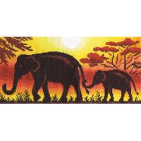 """Klart 8-011 """"Klart"""" набор для вышивания 8-011 """"Жаркая Африка"""""""