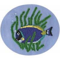"Klart 8-021 ""Klart"" набор для вышивания 8-021 ""Рыбка-хирург"""