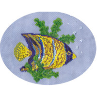 """Klart 8-022 """"Klart"""" набор для вышивания 8-022 """"Рыбка-ангел"""""""