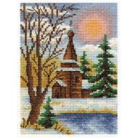 """Klart 8-027 """"Klart"""" набор для вышивания 8-027 """"Морозный денек"""""""