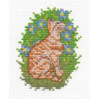 """Klart 8-029 """"Klart"""" набор для вышивания 8-029 """"Котик - розовый носик"""""""