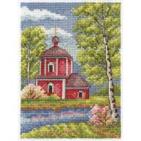 """Klart 8-044 """"Klart"""" набор для вышивания 8-044 """"Весенний денек"""""""
