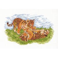 "Klart 8-048 ""Klart"" набор для вышивания 8-048 ""Тигрята"""