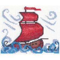 """Klart 8-056 """"Klart"""" набор для вышивания 8-056 """"Алые паруса"""""""