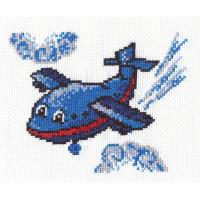 """Klart 8-057 """"Klart"""" набор для вышивания 8-057 """"Веселый самолетик"""""""
