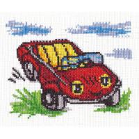 """Klart 8-058 """"Klart"""" набор для вышивания 8-058 """"Веселая машинка"""""""