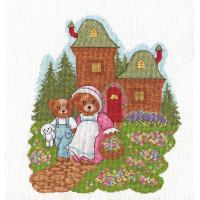"""Klart 8-061 """"Klart"""" набор для вышивания 8-061 """"Медвежата на прогулке"""""""