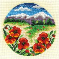 """Klart 8-069 """"Klart"""" набор для вышивания 8-069 """"Цветочная поляна"""""""