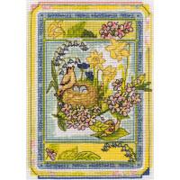 """Klart 8-099 """"Klart"""" набор для вышивания 8-099 """"Времена года. Весна."""""""