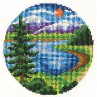 """Klart 8-106 """"Klart"""" набор для вышивания 8-106 """"У озера"""""""