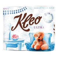 KLEO C86 Бумага туалетная бытовая KLEO Ultra, 3-х слойная, спайка (4 шт. х 20 м), C86