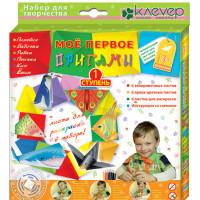 """КЛЕВЕР №04 """"Клевер"""" №04 Набор для изготовления оригами АБ 11-121 """"Мое первое оригами"""""""