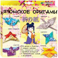 """КЛЕВЕР №06 """"Клевер"""" №06 Набор для изготовления оригами АБ 11-421 """"Японское оригами"""""""