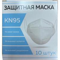 KN95 00999Х04730 Респиратор (полумаска фильтрующая) КОМПЛЕКТ 10 шт., МЕДИЦИНСКИЙ без клапана, FFP2, складной, KN95, 00999Х04730