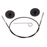 KnitPro 10521 Набор: тросик 35см, заглушки и кабельный ключик KnitPro, 10521