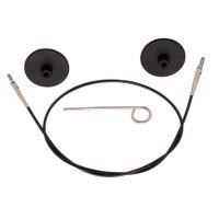 KnitPro 10525 Набор: тросик 126см, заглушки и кабельный ключик KnitPro, 10525