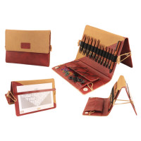 KnitPro Ginger 31282 Набор съемных деревянных укороченных спиц (Делюкс) Ginger KnitPro 31282