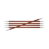 KnitPro Zing 47042 Спицы чулочные Zing 20см 5.5мм, 5 шт