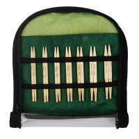 KnitPro Bamboo 1 Набор съемных спиц (делюкс) Bamboo KnitPro 22565