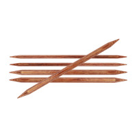 KnitPro Ginger 31007 Спицы деревянные носочные Ginger KnitPro, 15 см, 3.50 мм 31007