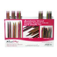 KnitPro Symfonie 20650_1 Набор носочных спиц 10 см Symfonie KnitPro