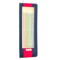 KnitPro Zing 1 Набор носочных спиц Zing KnitPro, 25см, 47405